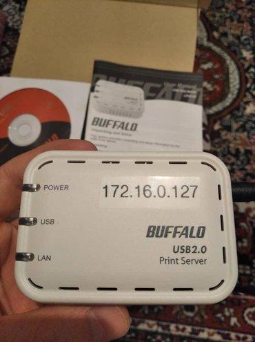 3g usb modem в Кыргызстан: Продаю принт-сервер, модель - lpv3-u2 vendor - buffalo technology