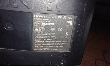 "Sony kv-μ2170d (crt 21"") με αποκωδικοποιητή f&u mpf3382. δεν"