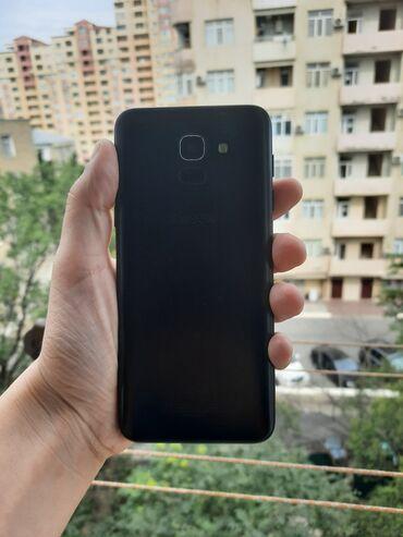 5 barmaq - Azərbaycan: İşlənmiş Samsung Galaxy J6 2018 32 GB qara