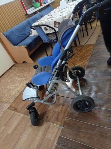 Инвалидные коляски - Кыргызстан: Продаю инвалидную коляску, до 12 лет