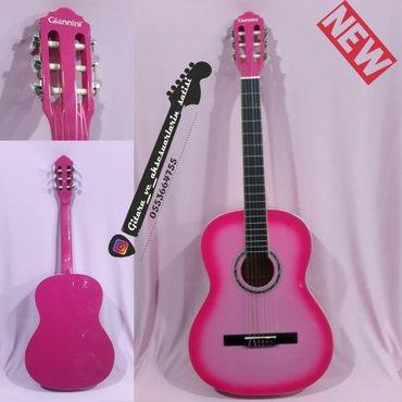 Bakı şəhərində Giannini klassik gitara - - 4/4 klassik gitara. Yeni gitaradır. Barter