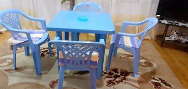Plastik goy stol ve stullar 150 man