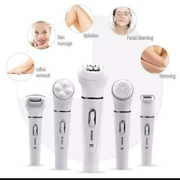 Aparati za brijanje - Srbija: Komplet za uklanjanje dlačica na licu i telu 5 u 1 – Epilacija