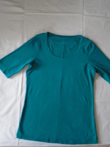 Nošena ali očuvana tirkiz majica Tom Tailor, L veličine a mere su