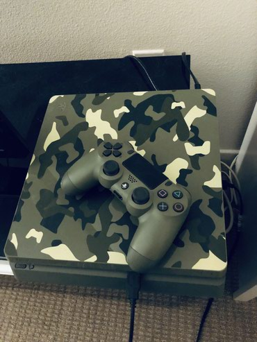 PlayStation 4 (PS4) Slim 1TB Limited Edition Console Call of Duty WWII σε Kimolos