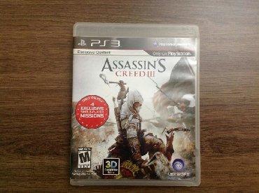 Video oyunlar və konsollar - Azərbaycan: Assassin's CREED 3 (PS3) 25 azn Original  Yaxşı vəziyyətdə