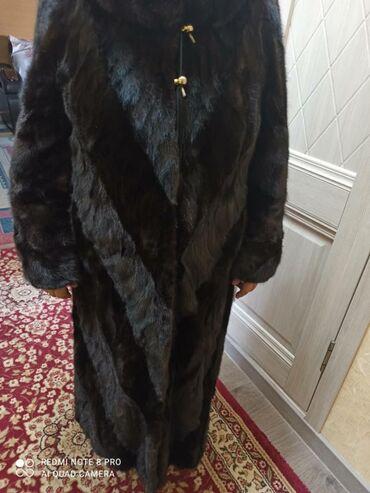 женское платье 54 в Кыргызстан: Продаю норковую цельнокроенную шубу (состояние нового). Размер 54-56