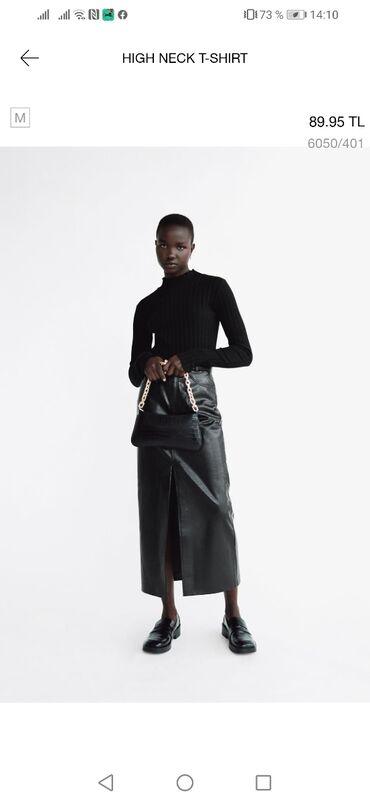 Zara водолазка, по длине к мамс джинсам, размер М, очень классное