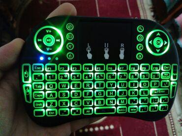 Klaviaturalar - Gəncə: İ8 simsiz klaviatura.Smart tv və oyun konsollarında istifadə edilə