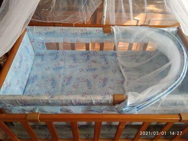 Детская кроватка. в хорошем состоянии