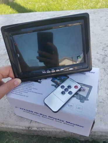 Lcd tv - Srbija: Video monitor sa LCD ekranom od 7 inča idealan za parking kameru, TV