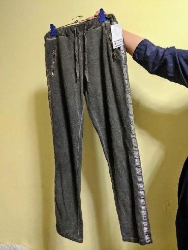 Женские брюки в Кыргызстан: Продаю штаны с лампасами, италия. качество огонь. остались 4 штуки