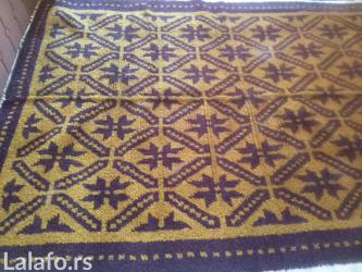 Kuća i bašta - Ivanjica: Dve ručno čvorovane serdžade ( čupavi ćilim ) rađene od kvalitetne