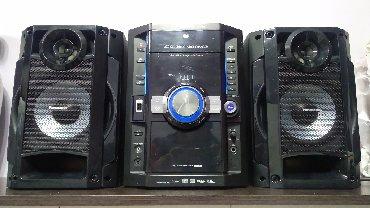 Продаю муз центр все раб. CD/ MP3/DVD/USB/AUX/ в Бишкек