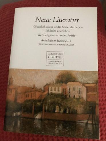 "Potpuno nova knjiga. ""Neue Literatur-Anthologie im Herbst 2012""-Goethe - Belgrade"