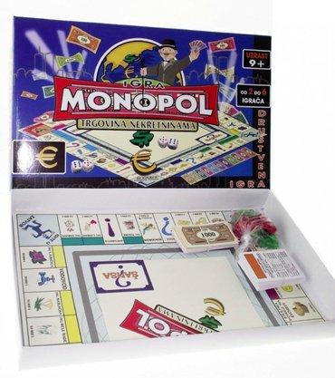 Monopol drustvena igra na srpskom, novo   ovo , najpopularnija drustve - Beograd