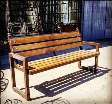 садовые растения в Кыргызстан: Скамейки для парков и частных домов. Готовые модели, а также варианты