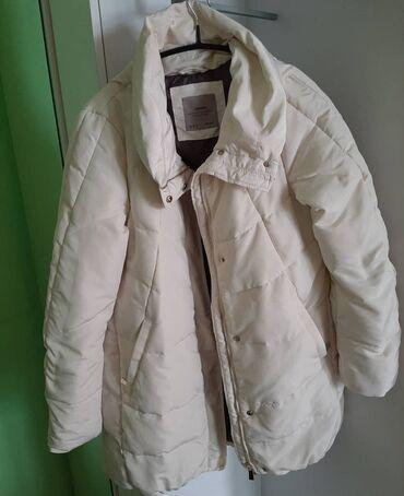 Zara jakna M Boja svetlo bez, bez ikakvih ostecenja i tragova nosenja