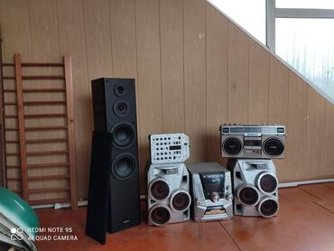 акустические системы alpine беспроводные в Кыргызстан: Музыкальный центр aiwa колонка pioneer panasonic behringer музыкальный
