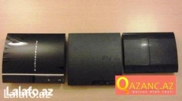 Bakı şəhərində Sony ps3 tamir satish, bater proshivka ediram bytyn nov  ps3...