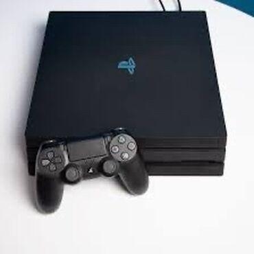 видеокамера sony z7 в Кыргызстан: Продаю PlayStation 4 pro один джойстик 3 игры в комплекте uncharted