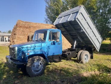 9581 объявлений: ГАЗ-53 самосвал Буратино 1994г отл сост без вложений рама кузов целый