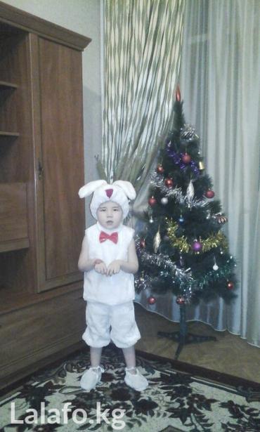 новогодний костюм зайчик,на 3-4г.,цена оконч. в Бишкек