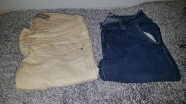 Pantalone i farmerice komad - Srbija: Farmerice,pantalone 27 28 broj, po 350 dinara. sve je maksimalno