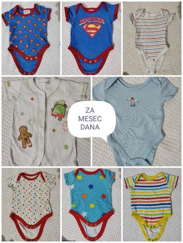 Paket garder komada - Srbija: Za tek rodjenje decake, vecinu stvarcica je za do 3 meseci a samo dva