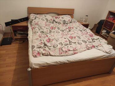Nameštaj - Zabalj: Jela Jagodina spavaca soba u kompletu bez ostecenja. Sastoji se od