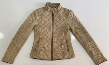 бурение скважин бишкек цены в Кыргызстан: Демисезонные женские куртки. Бежевая куртка: размер S, Бирюзовая