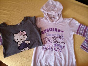 Majica sl - Srbija: Duks i majica,veličina 12,ali po meni za uzrast 8 do 10 godina. Nema