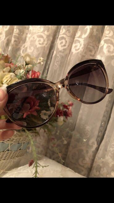 Маски, очки - Азербайджан: Xanimlar üçün eynek.Eyneyin ~ tutacaqlari qizili rengde demirden