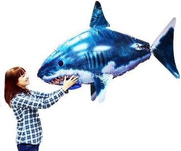 Игрушка летающая акула р/у. новый в упаковке. Звоните