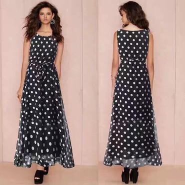 где можно купить платье как у хюррем в Кыргызстан: Новый! Платье в горошек, 52-54. Отлично смотрится с любым дополнением