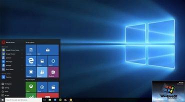 """Bakı şəhərində Hər növ personal komputer və noutbuklara """"Windows 10"""" əməliyyat- şəkil 4"""