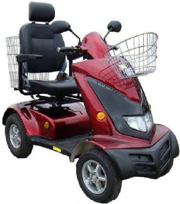 Скутер для пожилых людей и инвалидов E-toro mobility 43 (имеются