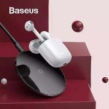 Baseus firmasından original Yeni keyfiyyətdə Bluetooth qulaqliq və в Bakı