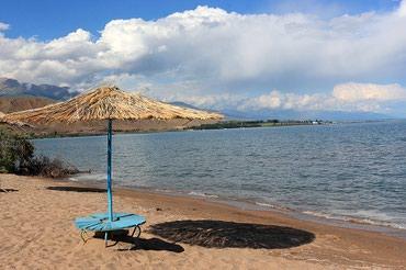 Семейный отдых на иссык-куле! до пляжа  -  рукой подать!!! в Чок-Тал