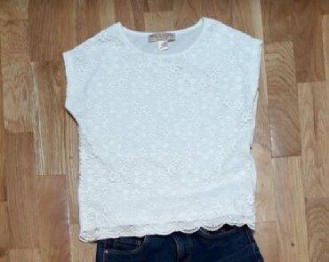 Cipkana bluz - Srbija: Cipkana, svecana, bela bluza za devojcice moze nositi i u opustenijoj