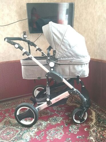 Детский мир - Ош: Продаю коляску трансформер Барс, состояние хороший как на фото,в