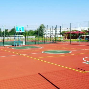 Спортивные покрытия в Бишкеке, резиновые покрытия, бесшовное резиновое