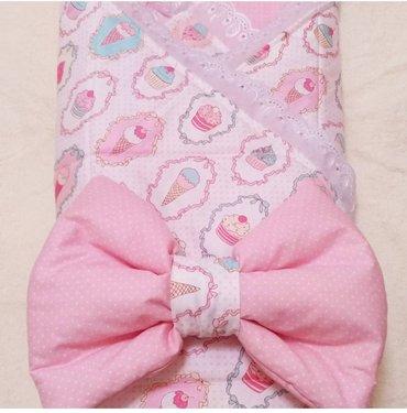 Конверт-одеяло на выписку, можно в Бишкек