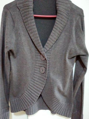 Džemper tamno sive boje veličina m sa rol kragnicom. Vrlo lep - Valjevo