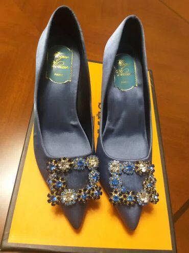 туфли атлас в Кыргызстан: Туфли абсолютно новые,не пдошел размер. Камни сваровские, материал атл