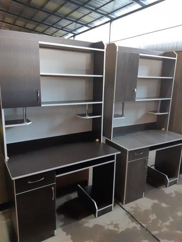 Продаю новые компьютерные столы из российского ламината!! +доставка в Бишкек