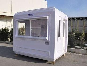 Bakı şəhərində Gözətçi kabinləri