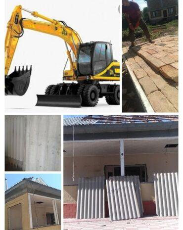 купить кирпичный гараж в Кыргызстан: Куплю б/у шифер сарай сарай демонтаж снос кирпич чёрный металл батарей