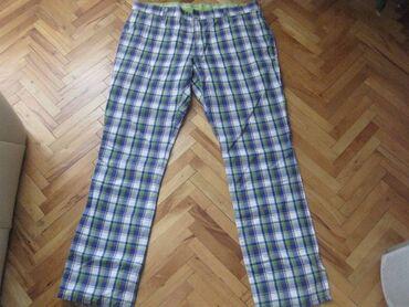 Personalni proizvodi - Srbija: Alberto golf pantalone kao noveeee original xlpredivne karo pantalone