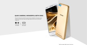 Doogee x30 gold,quad core,2gb ram,dual cameras 8mp,5,5 Ιnch,dual sim. σε Patras